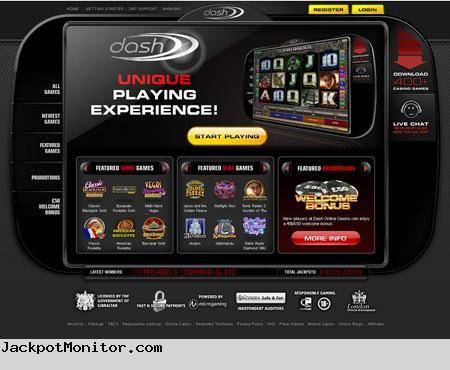 Dash Casino Screenshot