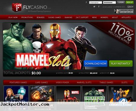 Fly Casino Screenshot