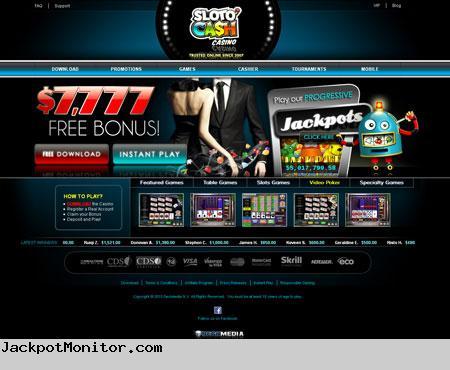 SlotoCash Casino Screenshot