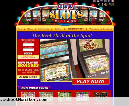 Slots Village Casino Screenshot