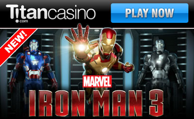 Play The New Iron Man 3 Slot At Titan Casino