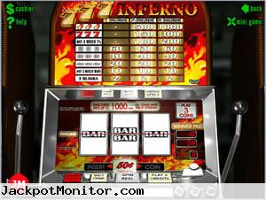 777 Inferno slot machine