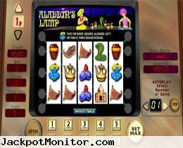 Aladdins Lamp slot machine