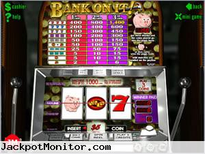 Bank On It slot machine