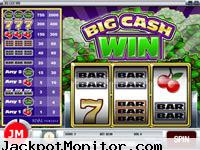 Big Cash Win slot machine