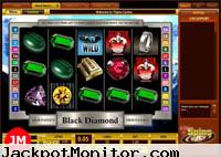 Black Diamond Video slot machine