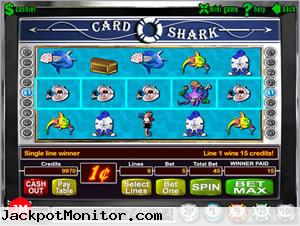 Card Shark slot machine