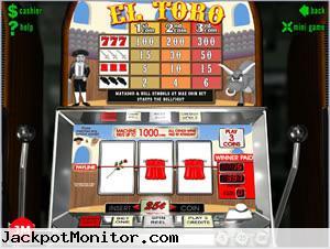 El Toro slot machine