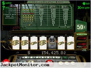 IRIS 300 slot machine