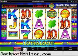 Lotsaloot 5 Reels slot machine