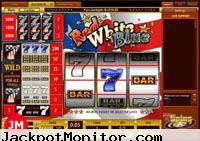 Red White Blue slot machine