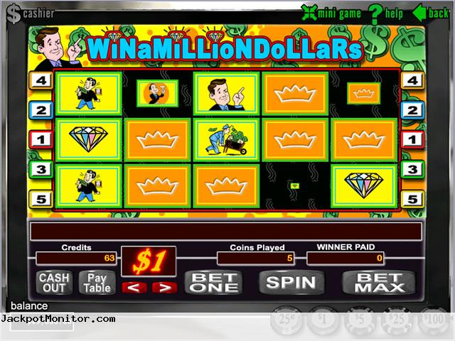 Win A Million Dollars slot machine